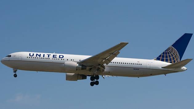 Boeing 767 United Airlines. Ilustrační foto.