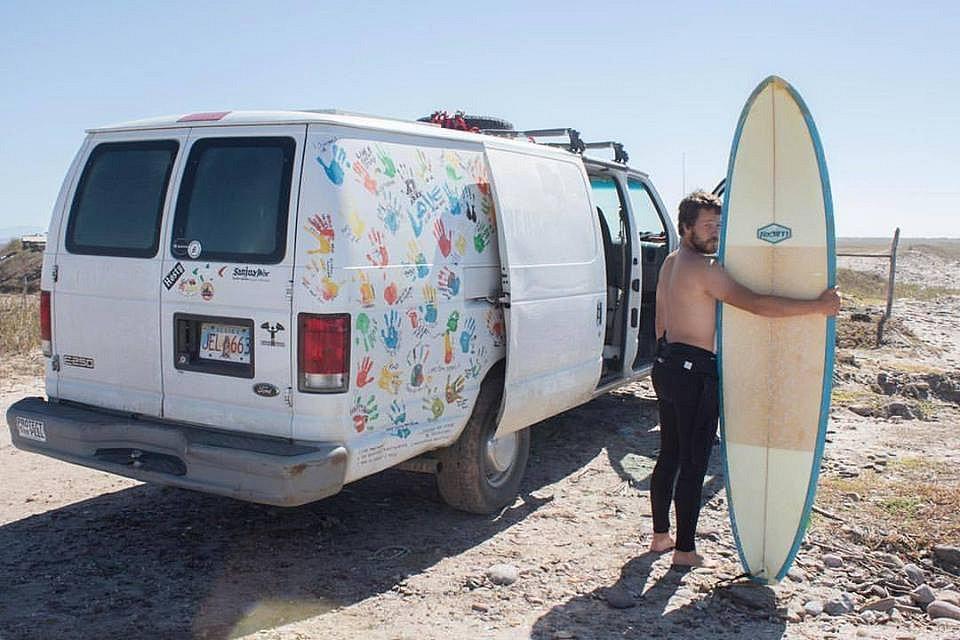 Surfování v Mexiku