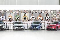 Škoda Auto už vyrobila 17 milionů aut.