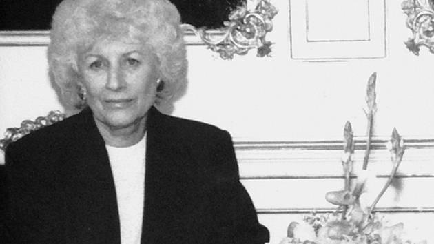 Olga Havlová na archivním snímku.