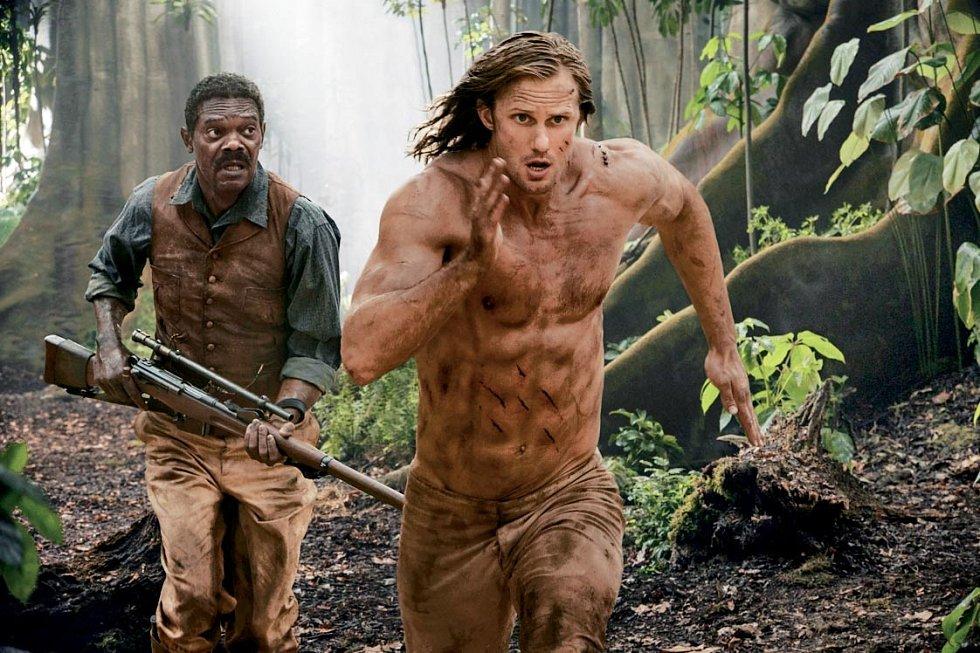 Se Samuelem L. Jacksonem v Legendě o Tarzanovi (2016).