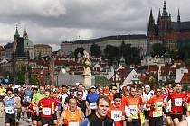 Pražský maraton 2012.