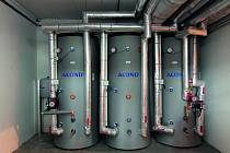 Nádoby tepelných čerpadel Acond