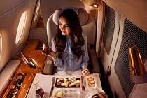 Dosud kajuty nabízelo jen několik světových dopravců, i to pouze v první třídě. Ty nejluxusnější nabízí společnost Emirates.