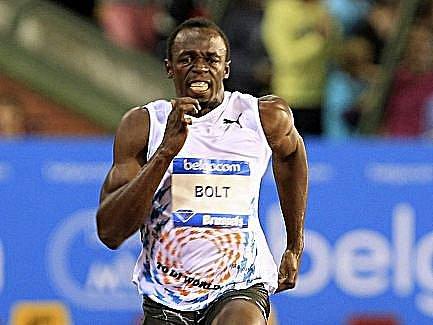 Usain Bolt kraloval bruselskému mítinku Diamantové ligy.
