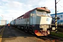 Nepotřebná vozidla ČD Cargo určená k prodeji.