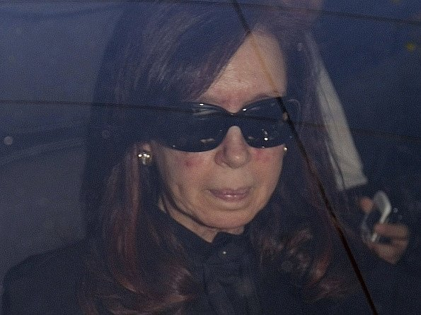Argentinská prezidentka Cristina Fernandezová.
