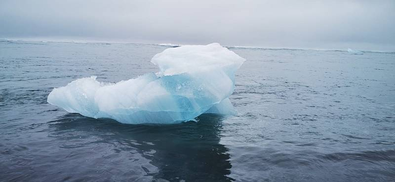 Diamantová pláž u ledovcové laguny Jökulsarlón