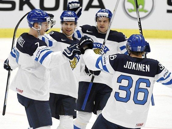 Finsko slaví gól v síti Norska