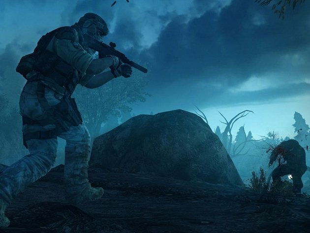 Počítačová hra Ghost Recon: Future Soldier.