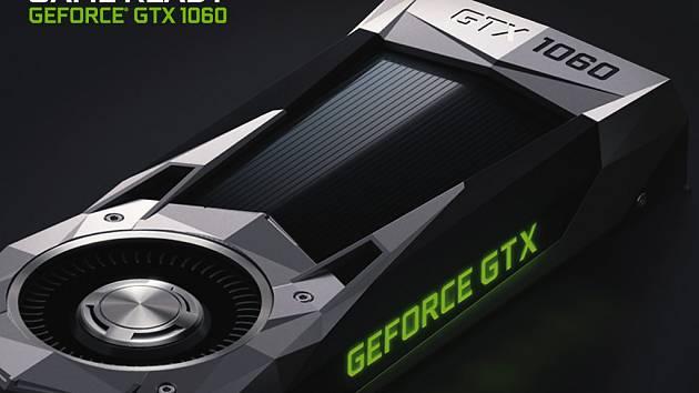 Grafická karta Nvidia GeForce GTX 1060.