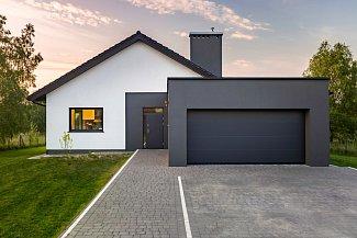 Garáž by měla s domem tvořit harmonický celek