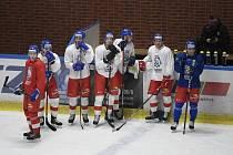 Česká hokejová reprezentace do 20 let.