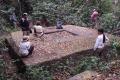 Pozůstatek nově nalezeného chrámu Mahendraparvata
