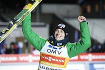 Roman Koudelka po triumfu v Lillehammeru