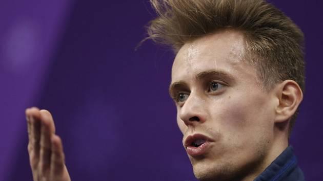 Senzace. Krasobruslař Březina po krátkém programu vede mistrovství Evropy