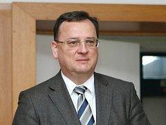 Premiér Petr Nečas.