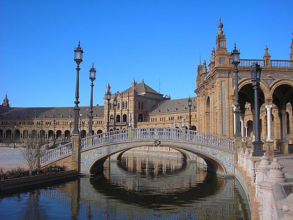 Plaza de España v Seville