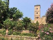 Kasba (pevnost) v Rabatu patří mezi nejkrásnější místa severní Afriky vůbec