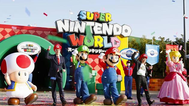 Zábavní park Super Nintendo World