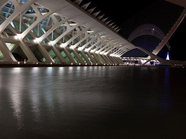 Ciudad de las Artes y las Ciencias ve španělské Valencii