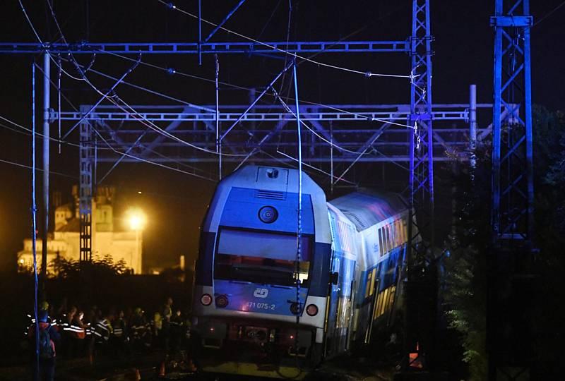 Srážka vlaků u Českého Brodu
