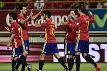 Španělé nadělili Lichtenštejnsku osm gólů