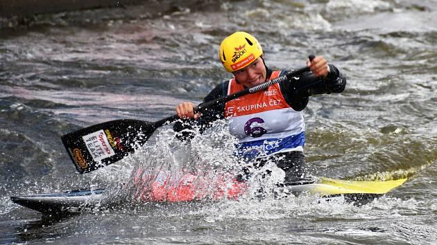 Tereza Fišerová vybojovala na SP v Praze třetí místo.