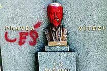 Zhanobili pomník T. G. Masaryka