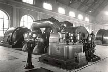 Teplárna Trmice - turbogenerátor TG4 (cca 1937)