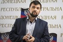Zástupce samozvané Doněcké lidové republiky Denis Pušilin.