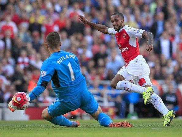 Theo Walcott a jeho trefa proti Stoke