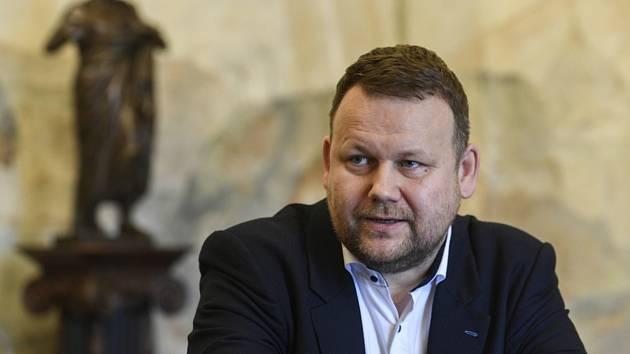 Ředitel Národní knihovny Martin Kocanda (na archivním snímku z 1. června 2020)