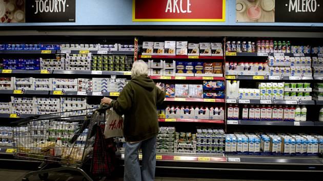 Prodejna potravin. Ilustrační snímek