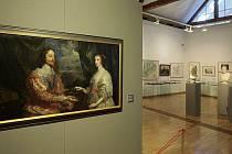 Tizianův Apollo a Marsyas v  Muzeu umění.