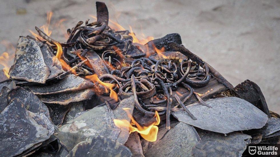 Hořící kontraband