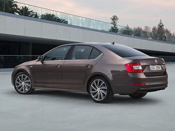 Škoda Octavia svrcholnou výbavou verzi Laurin & Klement.