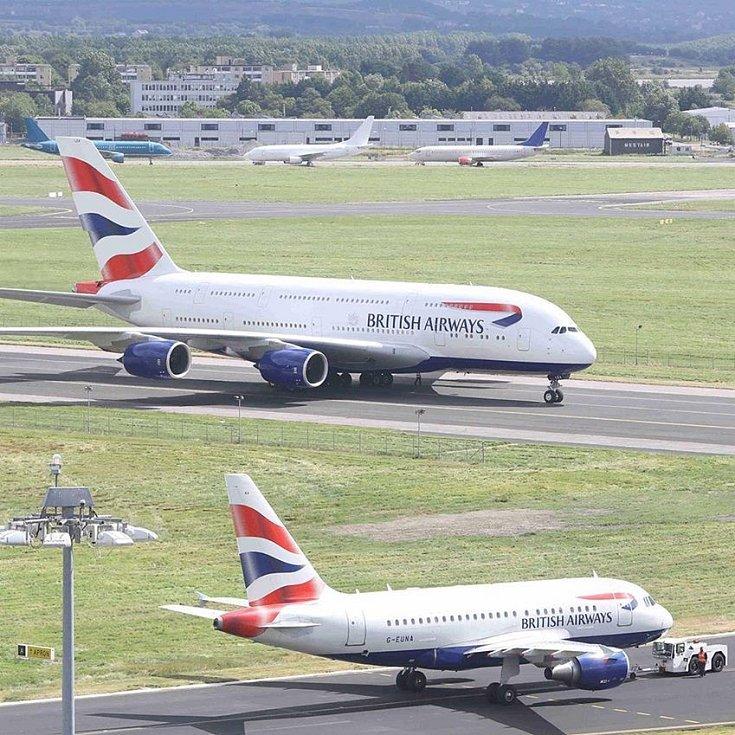 Airbus A380 společnosti British Airways