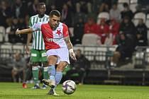 Nicolae Stanciu ze Slavie gólem z penalty nastartoval obrat.