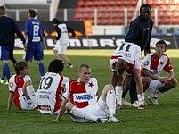 Fotbalisté Slavie