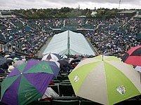 Deštivý Wimbledon