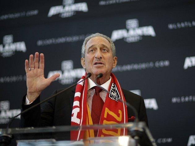 Za rozšířením fotbalové MLS do Atlanty stojí Arthur Blank.