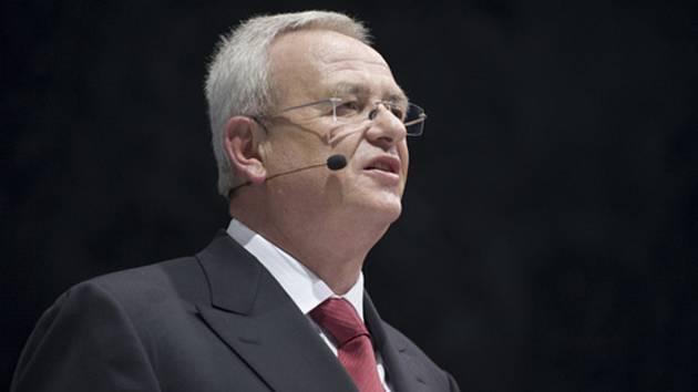 Martin Winterkorn - Bývalý generální ředitel automobilky Volkswagen