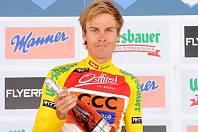 Cyklista Jan Hirt.