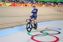 Jason Kenny získal na olympijských hrách v Riu tři zlaté medaile.