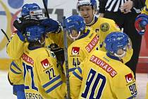 Hokejisté Švédska vyhráli turnaj Karjala v Helsinkách.
