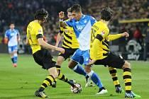 Dortmund v zápase proti Hoffenheimu