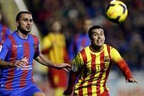 Barceloně nepomohl proti Levante ani Pedro