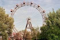 Vídeň - Prátr - obří ruské kolo.