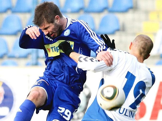 Fotbalisté Olomouce si ve čtvrtfinále Ondrášovka Cupu poradili s Libercem.